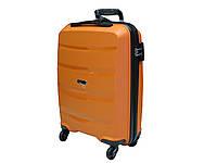 Малый пластиковый чемодан Airtex Newstar 229 оранжевый, фото 1