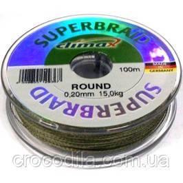 Шнур Climax Superbraid Round 0,10 мм