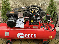 Компрессор воздушный ременной Edon OAC-100/2400 2400 Вт 440 л/мин, фото 1