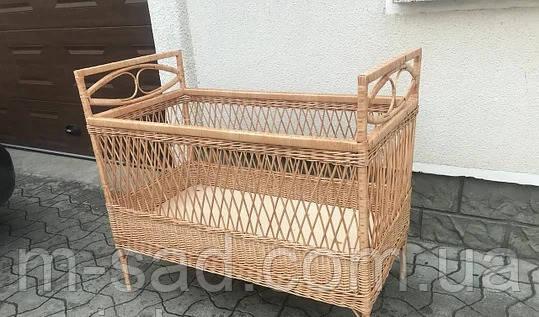 Кроватка-Люлька плетеная, фото 2
