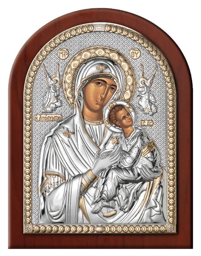 Икона  Матери Божьей Неустанной Помощи (12х16см) 84160.3L.ORO