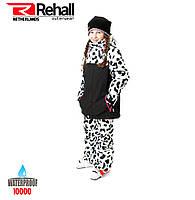 Детский горнолыжный костюм REHALL MAGGY-R-JR 164 white leopard (51020 1s), фото 1