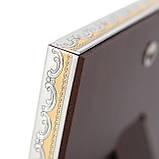Икона серебряная  Казанская Богородица (12х16см) 85302 3LCOL, фото 3