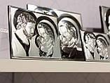 Икона серебряная Святое Семейство (14.5х12.5см) 81340 2L, фото 2