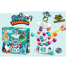 Настольная игра 007-114 (48шт) Пингвин, шарики, рулетка, в кор-ке, 26,5-26,5-5,5см