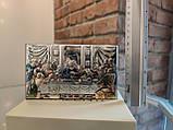 """Икона серебряная  """"Тайная Вечеря"""" (15х9см) 81323.3XL.COL, фото 2"""