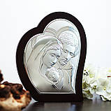 """Икона серебряная  """"Святая Семья"""" (26х31.5см) 81330.4L, фото 2"""