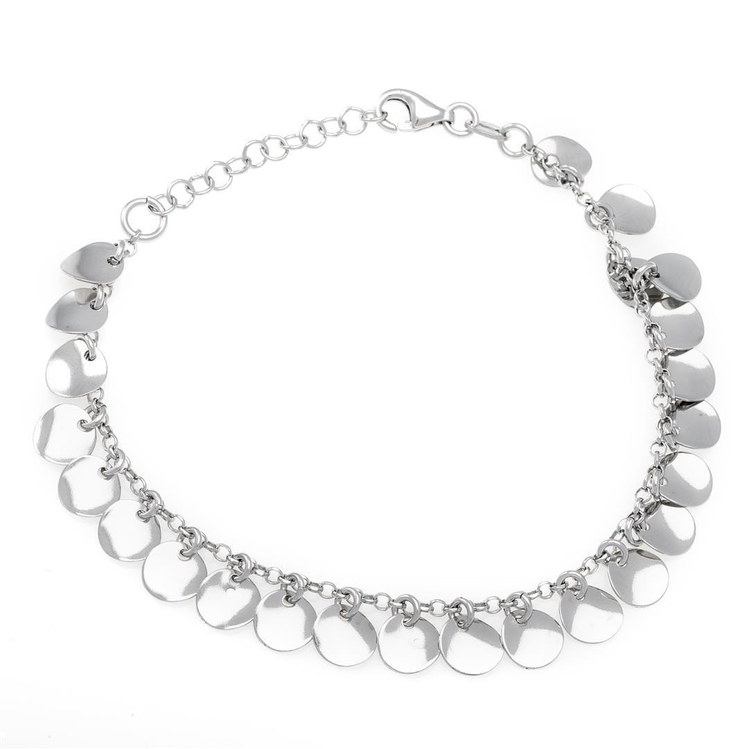 Серебряный браслет в стиле Tiffany (размер 18.5)