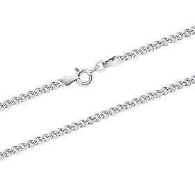 Серебряная цепочка с плетением нона (4мм)