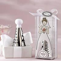 """Подарки гостям на свадьбе - """"Терка"""" в виде платья невесты"""