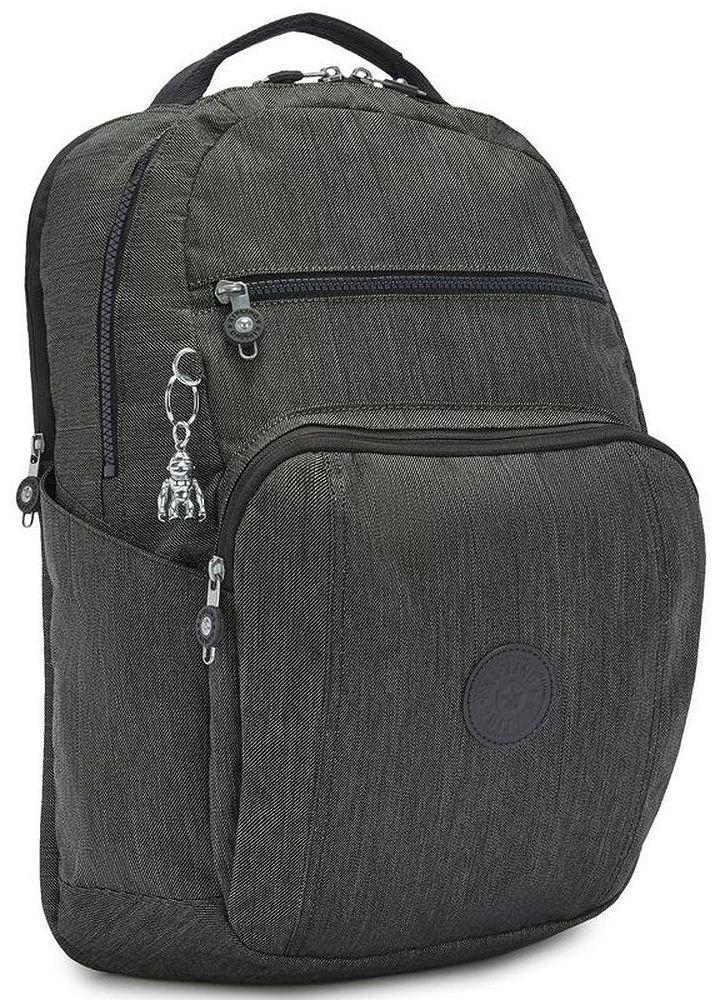 Городской рюкзак Kipling Peppery 23л серый