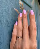 "Кольцо в белом золоте с бриллиантом ""Романтизм"" (3мм) (17), фото 2"