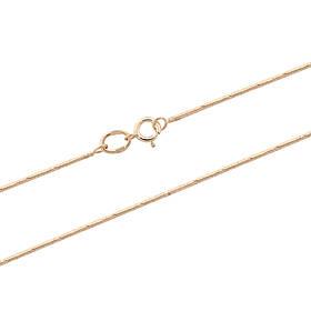 Золотая цепочка-снейк (размер 45)