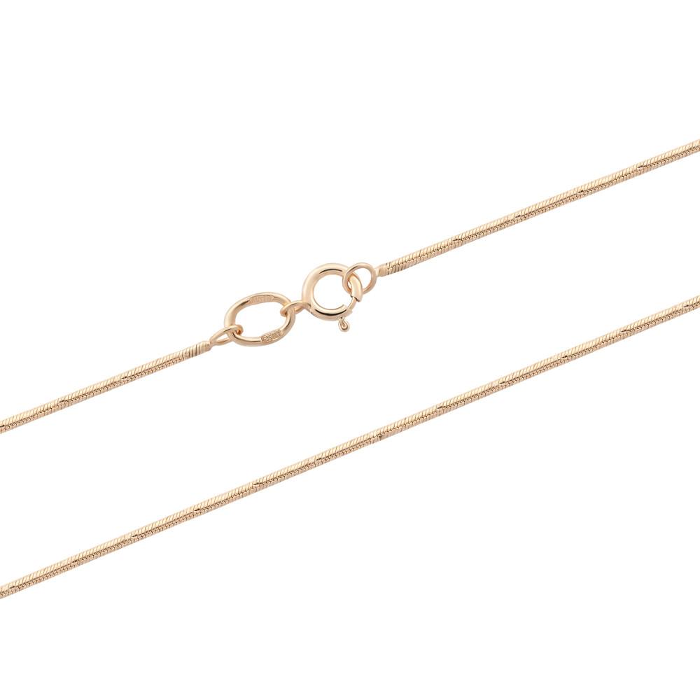 Золотая цепочка-снейк (размер 50)