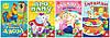4 книжки з віконцями. Серія «Ку-ку!»