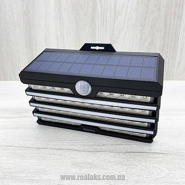 Прожектор светодиодный Baseus Solar Energy Human Body Induction Wall Lamp (Black), фото 3