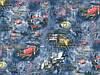 Шпалери 1,06х10,05, гаряче тиснення, Ралі 328-03 синій