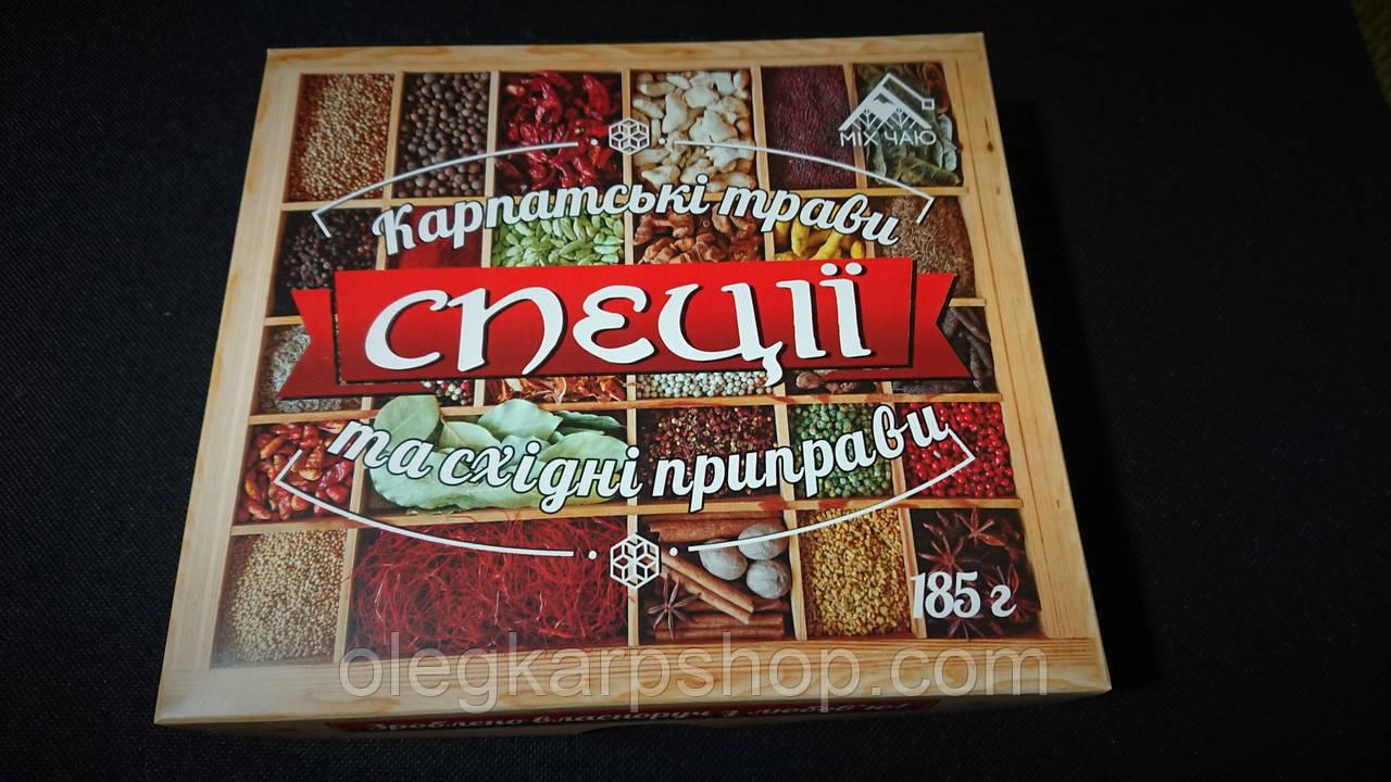 Миксы специй для разных блюд. 185 г в упаковке.