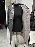 """Зимове довге пальто """"Леді"""", капучіно, фото 2"""