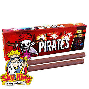 Петарды Корсар 3 Furor Pirates K0203-5 (5 выстрелов) 10 шт