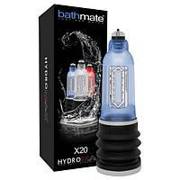 Гидропомпа Bathmate Hydromax 5 Blue (X20), для члена длиной от 7,5 до 12,5см, диаметр до 4,5см