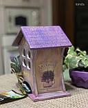 Чайный домик | Подарок к новому году | Домик для чайных пакетиков |  Hand-Made, фото 3