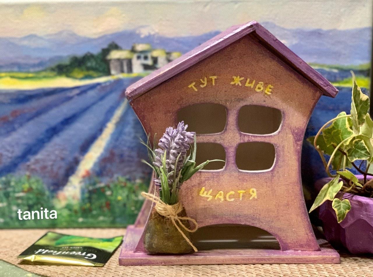 Чайный домик | Подарок к новому году | Домик для чайных пакетиков |  Hand-Made