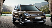 Штатные дневные ходовые огни (DRL) для VW Tiguan 2013+ T3