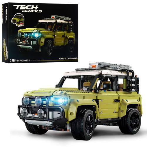 "Конструктор Техніка 3389 ""Позашляховик Ленд Ровер Дефендер Land Rover Defen"" 2931 деталей."