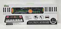 Пианино YYX 005 FM (18) на батарейке, с микрофоном, 37 клавиш, мелодии, в коробке