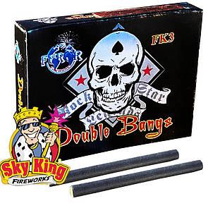Петарды Корсар3 Furor Double Bangs FK3 (2 выстрела) 20 шт
