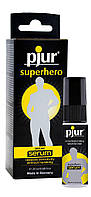 Пролонгирующий гель pjur Superhero Serum 20 мл, создает невидимую пленку снижающую чувствительность