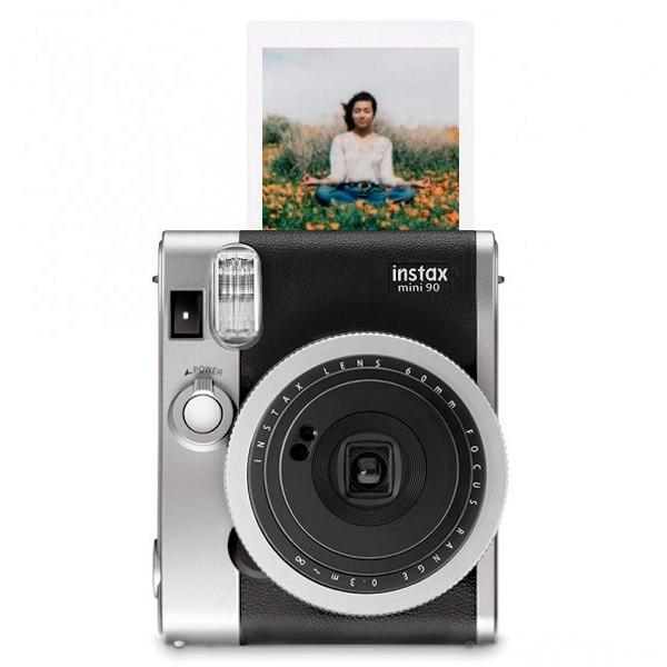 Фотокамера моментальної друку Fujifilm Instax Mini 90 Neo Classic Black Pro + папір та чохол