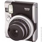 Фотокамера моментальної друку Fujifilm Instax Mini 90 Neo Classic Black Pro + папір та чохол, фото 2