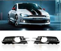 Штатные дневные ходовые огни (DRL) для VW Scirocco 2010+