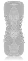 Мастурбатор Dorcel Double OO, двусторонний, два рельефа
