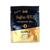 Пробник геля для стимуляции члена Intt Inflate XXL (2 мл) со вкусом корицы