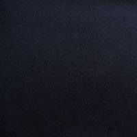 Трикотажное полотно кулир пенье хб, черный