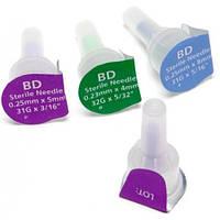 Иглы инсулиновые Микрофайн плюс 10 шт / Голки інсулінові BD Micro-fine Plus 10 шт