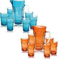 Набор для напитков Oakley Colour 6 стаканов 320мл и графин 1.2л ST-9448
