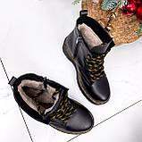 Ботинки женские Quent черные ЗИМА 2687, фото 2
