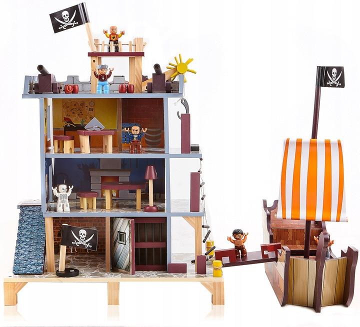 Ігровий набір Піратська фортеця з кораблем