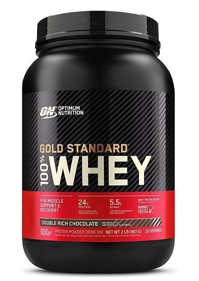 Optimum Nutrition 100% Whey Gold Standard USA 909g (другие вкусы)