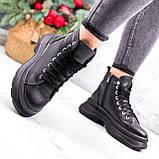 Ботинки женские Chris черные ЗИМА 2684, фото 2
