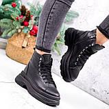 Ботинки женские Chris черные ЗИМА 2684, фото 3