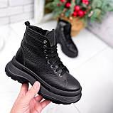 Ботинки женские Chris черные ЗИМА 2684, фото 4