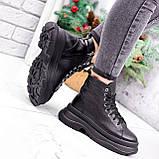 Ботинки женские Chris черные ЗИМА 2684, фото 5