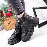 Ботинки женские Chris черные ЗИМА 2684, фото 6