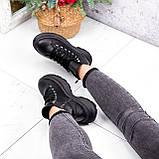 Ботинки женские Chris черные ЗИМА 2684, фото 7
