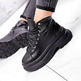 Ботинки женские Chris черные ЗИМА 2684, фото 9